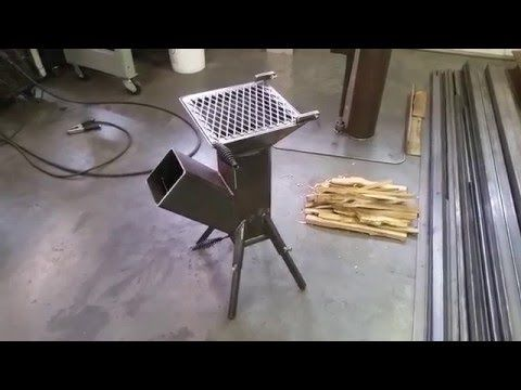 Diy Videos How To Build A Homemade 6 X 6 Rocket Stove