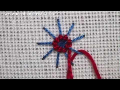 Ribbed Spider Web Stitch Video Tutorial – NeedlenThread.com