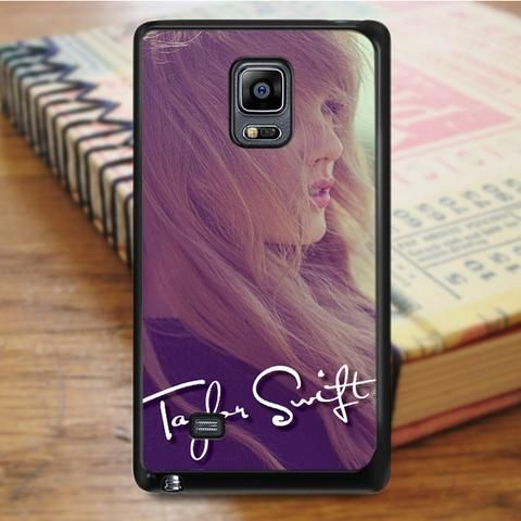 Taylor Swift Signature Samsung Galaxy Note Edge Case
