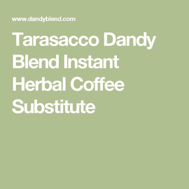 Tarasacco Dandy Blend Instant Herbal Coffee Substitute