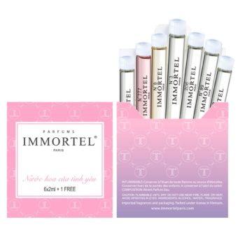 Mua Bộ nước hoa Hộp Mini 6 chai 2ml và 1 IMMORTEL Paris Eau De Parfum 2ml chính hãng, giá tốt tại Lazada.vn, giao hàng tận nơi, với nhiều chương...