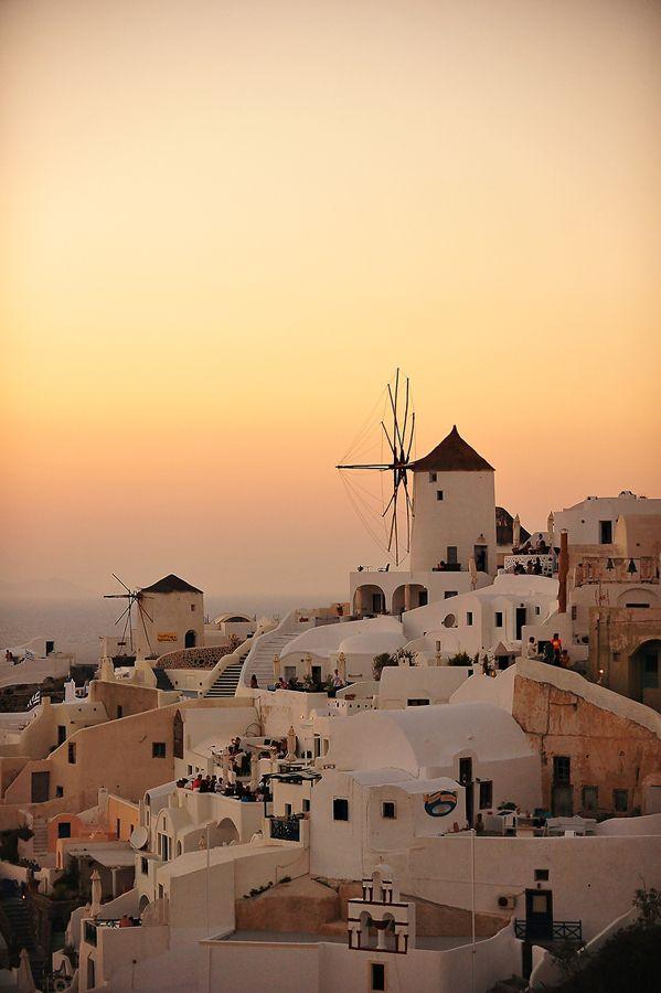 #Santorini Sunset in Oia // ギリシャ