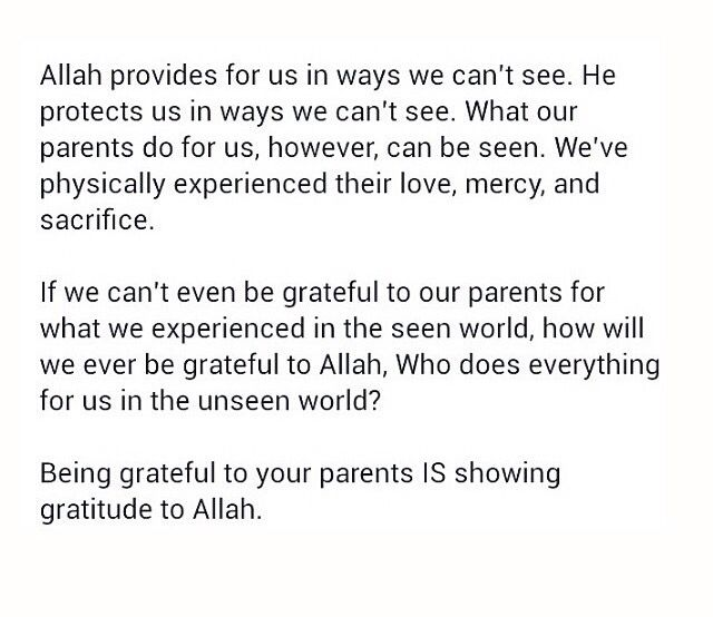 Allah provides