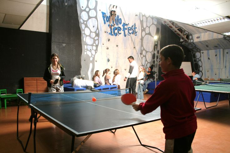 Game Room.   Equipped with Foosball, billiards and ping pong tables, a climbing wall, and next to the full court gym, kids and teens find hours of enjoyment in our game room.