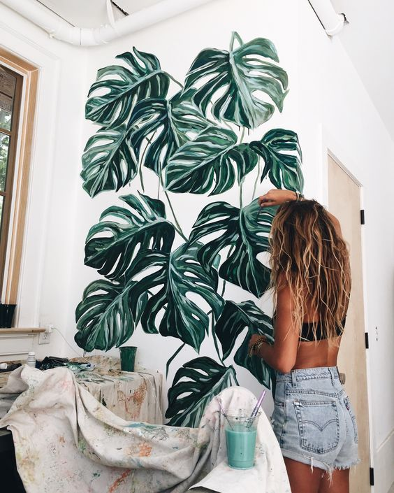 Monstera Deliciosa Tropical Plants