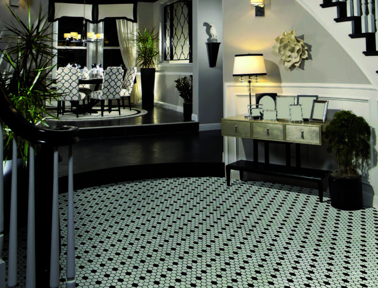 ONIX floor tiles #tiles #floortiles #onix # blackwhite #luxury #elegancy