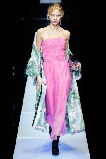 Abito rosa Giorgio Armani