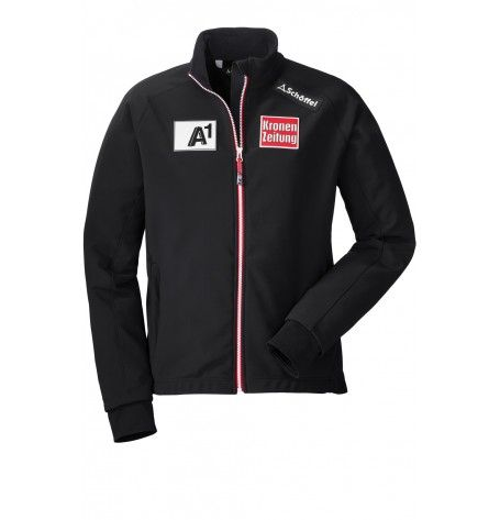 The original Race softshell jacket of the Austrian Ski Team is perfect for competition warm-ups and training sessions. This exclusive jacket gives you optimal protection from wind while keeping you dry, and the tough corduroy fabric is designed to withstand the stress of slalom training.