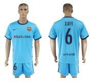 Barcelona FC 17-18 Away soccer kits 21