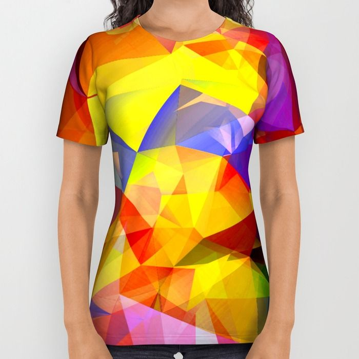 In The yellow All Over Print Shirt by Haroulita   Society6