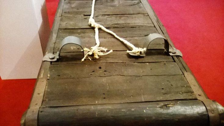 #piinamisriistad #tallinna. #venytyspenkki #rack was this #therack? #museum of #medieval #medievalTorture #instruments. #ourhistory. #history of #Europa. Our roots... #piinamisriistad.