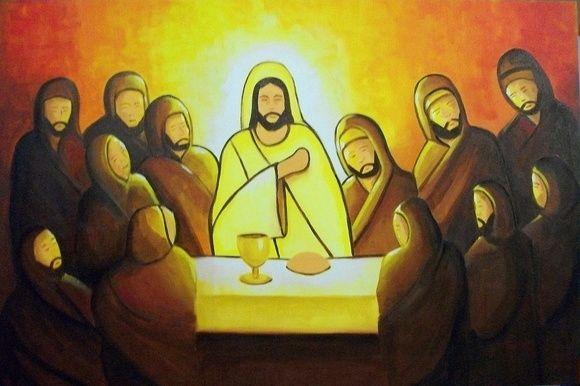 La última cena de Jesus