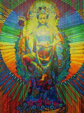 "Saatchi Online Artist Markus  Meier; Digital, ""bodhisattva digital 2011"" #art"