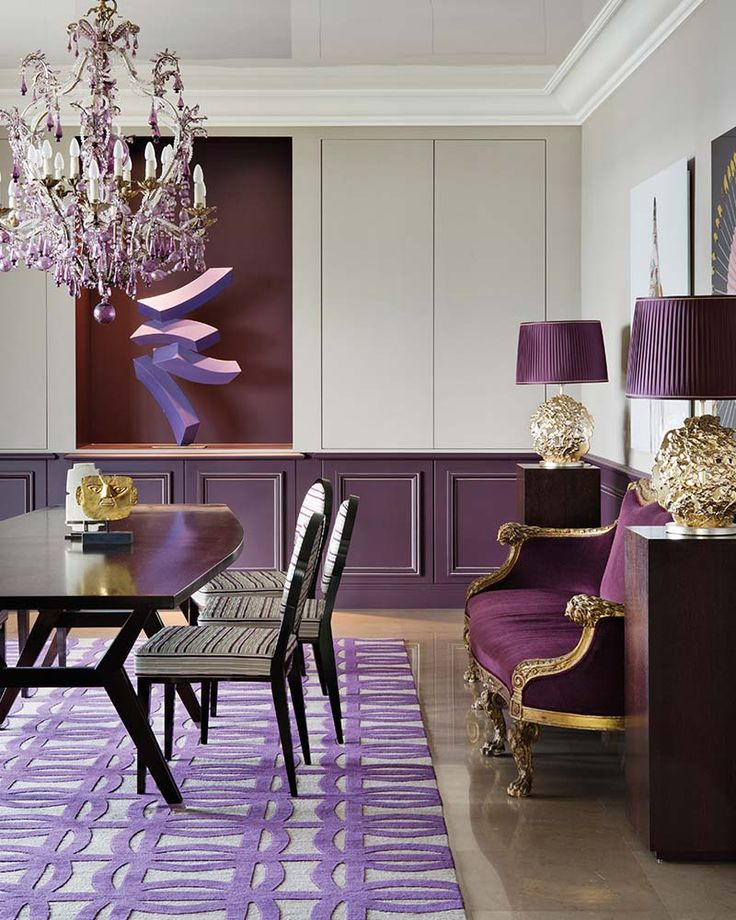 Best 25 Green Dining Room Ideas On Pinterest: 25+ Best Ideas About Purple Dining Rooms On Pinterest