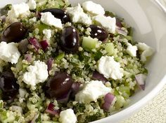 Peynirli Kinoa Salatası