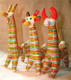 Filimonovo toy-Филимоновская игрушка - Глиняная игрушка - Лепка ( для сравнения с Дымковской игрушкой)