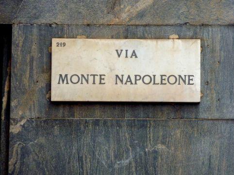 Via MONTE NAPOLEONE: the most famuos italian fashon avenue