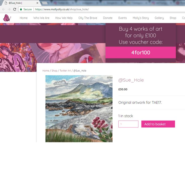 My Renvyle beach postcard painting can now be bought online via @MollyOllys website: https://www.mollyolly.co.uk/shop/sue_hole/ for just £30 +shipping!   #TwitterArtExhibit #charity #TAE17 #connemara #galway #wildatlanticway #wildatlanticwayart #watercolour #artforsale