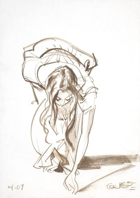 lady bending