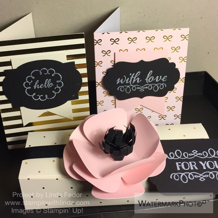August 2015 Paper Pumpkin Spoiler Alert- Stampin' Up! Chalk It Up To Love/ www.stampinwithlinda.com: