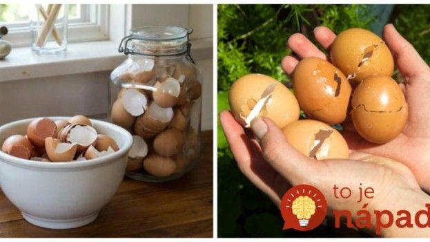 Toto som sa naučila pred rokmi od starej a som jej za to dodnes vďačná: Kto uvidí toto, ten túto jar nevyhodí do koša ani jedinú vaječnú škrupinku!