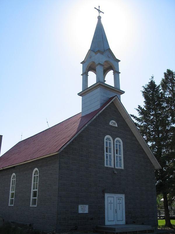 La Pêche (église Sainte-Sophie), Québec, Canada (DÉMOLIE)