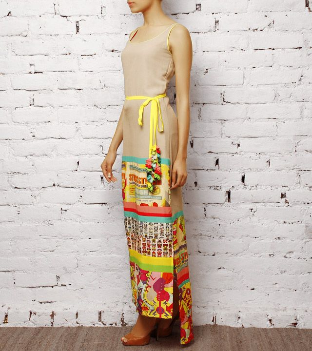 Toy Factory Straight Maxi Dress | Quirk Box
