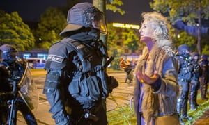 Hamburg braces for G20 violence as tensions rise over police tactics  Police chief predicts 'not just sit-in protests but massive assaults' as Germany's second largest city prepares for summit starting on Friday July 5 2017 #G20