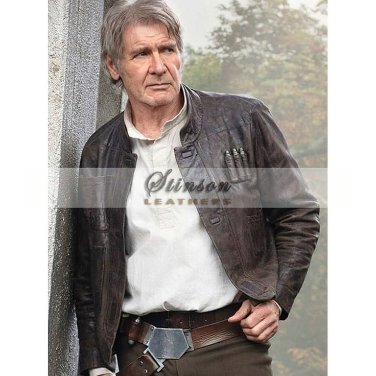 Han Solo Star Wars The Force Awakens Leather Jacket is an ultimate choice for all the star wars fans, Worn by the famous Harrison Ford as Han Solo.   This Han Solo Jacket is has been designed 100% Accuracy and will last for years without any complaints.