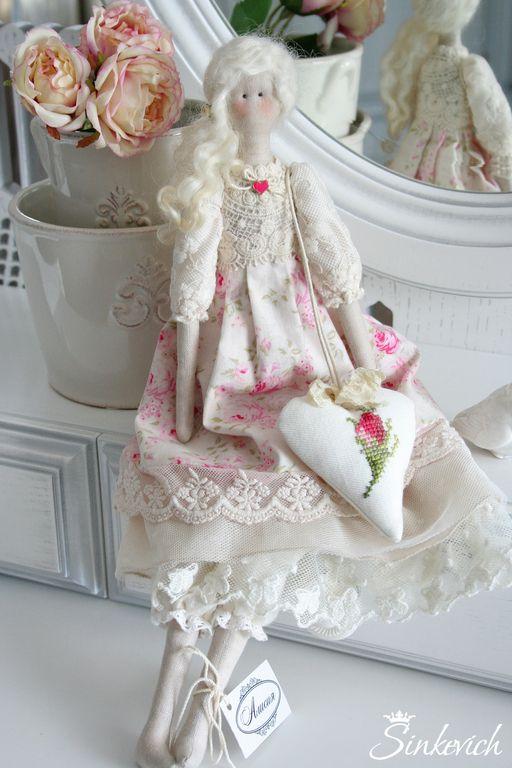 Куклы Тильды ручной работы. Ярмарка Мастеров - ручная работа Кукла в стиле Тильда Алисия. Handmade.