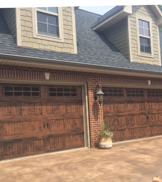 Gel Stain Garage Doors Garage Doors In 2019 Garage