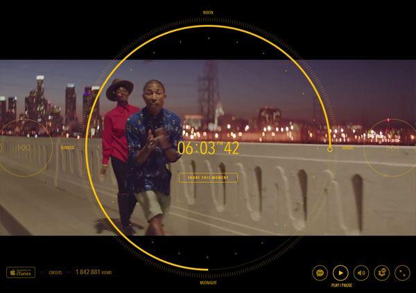 世界初の試み!ファレル・ウィリアムス PHARRELL WILLIAMSの新曲ミュージックビデオ「HAPPY」は、なんと24時間! #ロサンゼルス http://japa.la/?p=26041