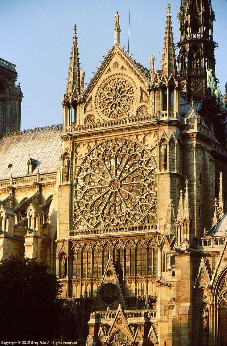Greg Mix   Architect: Paris, Notre Dame, Gargoyles, The Cluney Museum, Etc.