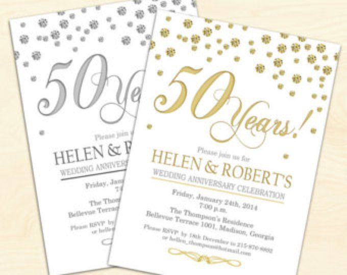 Cheap 50th Wedding Anniversary Invitations: 25+ Best Ideas About Wedding Anniversary Invitations On