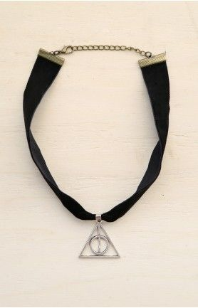 Deathly Hallows Velvet Choker