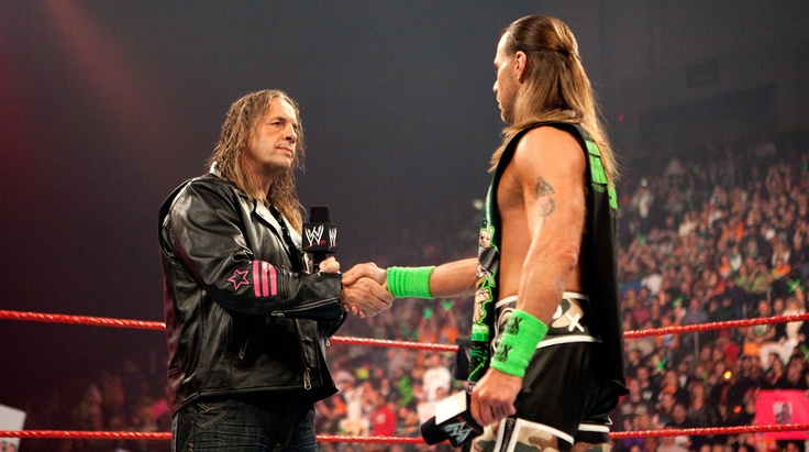 Bret Hart and Shawn Michaels