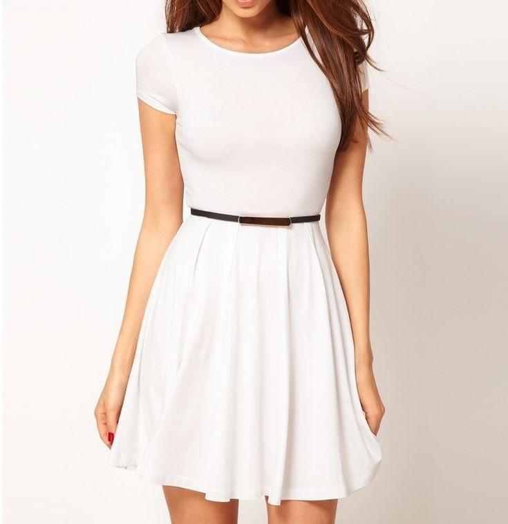 Vestidos juveniles casuales modernos 1 | Moda para ir de fiesta