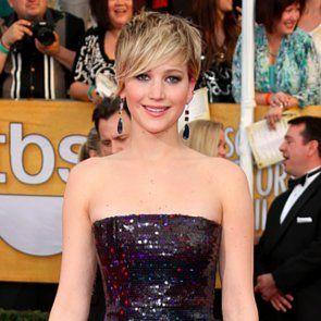Jennifer Lawrence Doritos ile Amerikan Hustle Elbise mahvetti