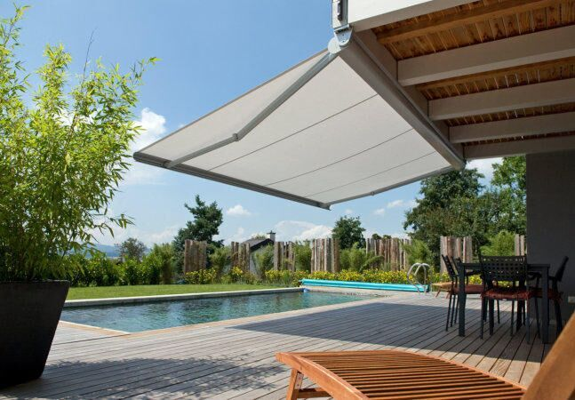 Enhance and protect your outdoor living area with our comprehensive range of contemporary #FoldingArmAwnings to suit any residential or commercial application.