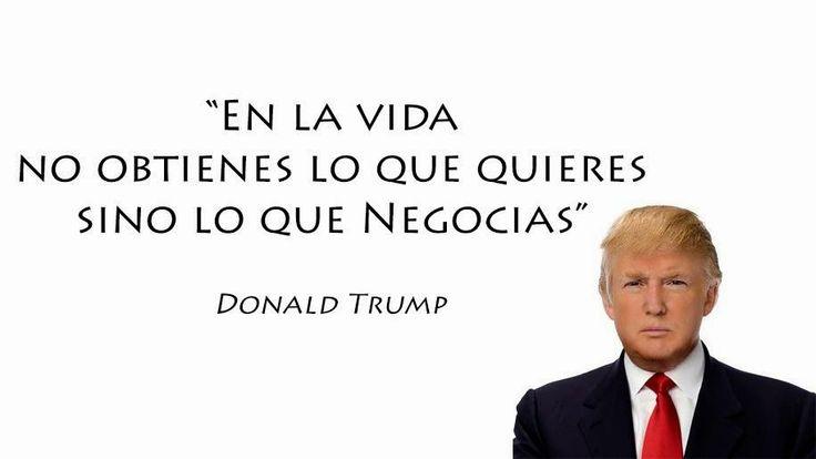 Frase de Donald Trump