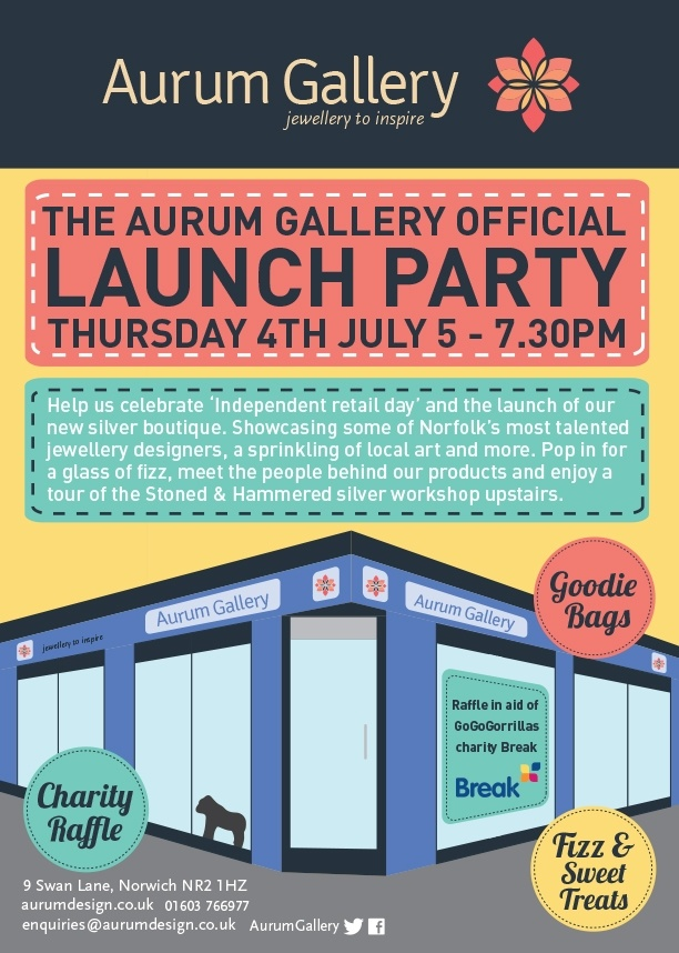 Aurum Gallery Launch Party 4th July