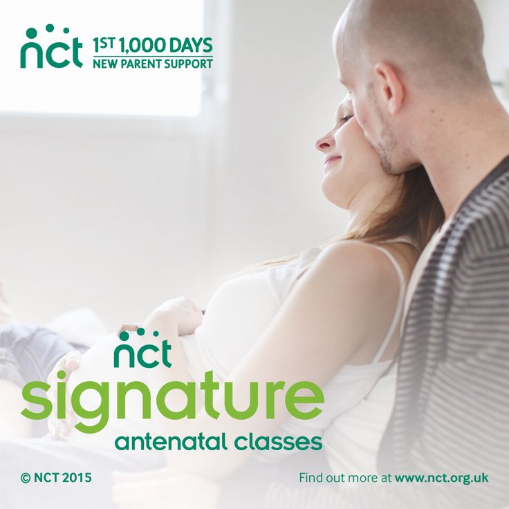 NCT Signature antenatal classes Having a baby is a special time. Make sure you benefit from the experience, support and social networks that only come with an NCT Signature antenatal course.
