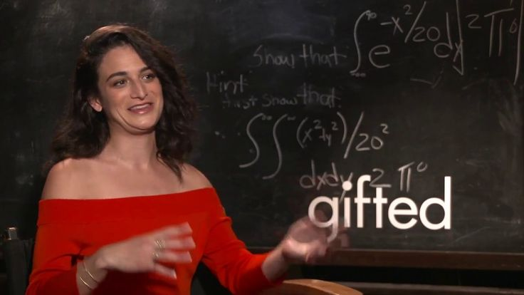 Jenny Slate raw interview Gifted Chris Evans latest movie