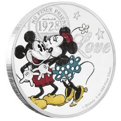 Disney Love 2017 1oz Silver Proof Coin