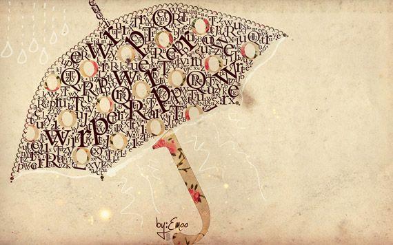 a typed umbrella