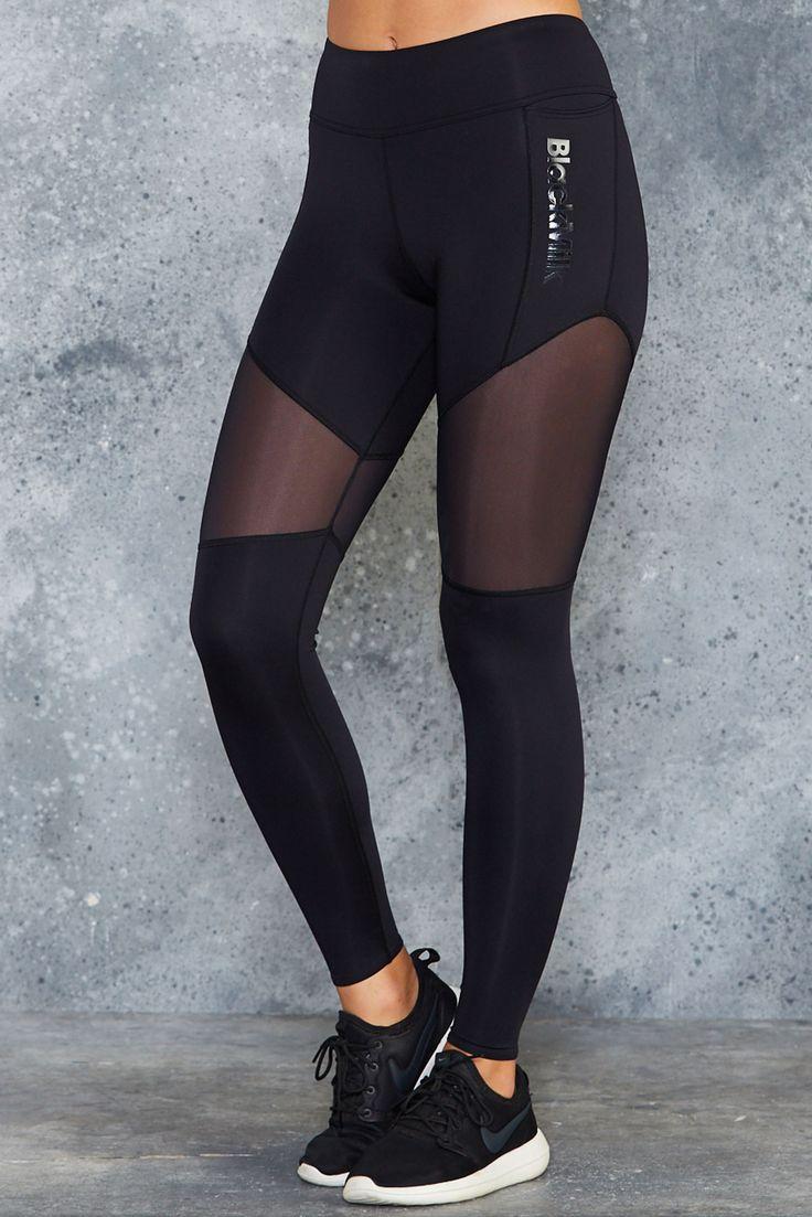 Sheer Spliced Ninja Pants ($129AUD) by BlackMilk Clothing