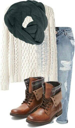 Scrubby winter outfit