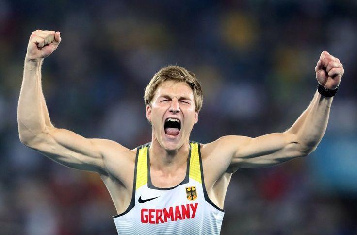 Seine erste olympische Medaille ist gleich eine goldene: Thomas Röhler hat sich…