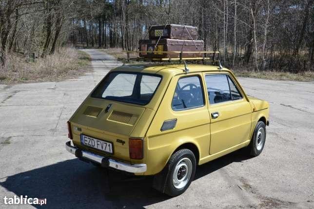 Fiat 126 IKONA POLSKIEJ Motoryzacji 1983 w Zduńskiej Woli - image 6
