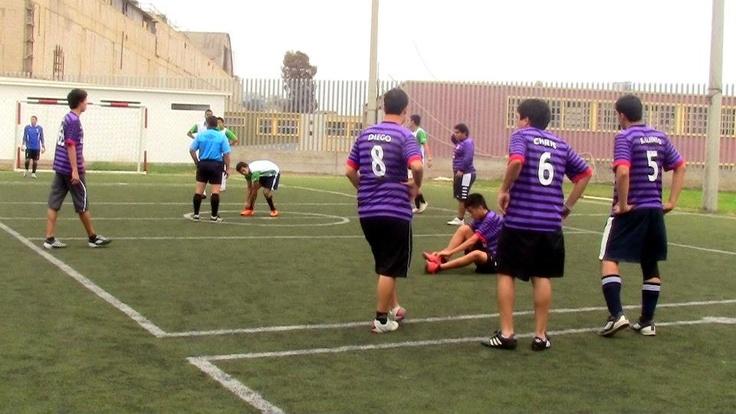 Final de fútbol-Juegos Florales FCCTP 2012